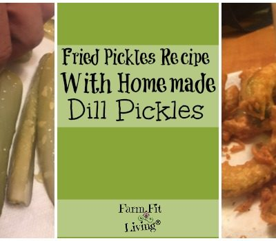 Fried Pickles Recipe Using Homemade Dill Pickles