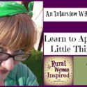 Learn to Appreciate the Little Things in Life with Amy Dingmann