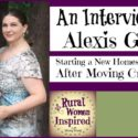 Starting a New Homestead from Scratch with Alexis Griffee