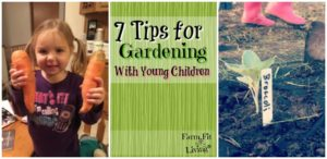 tips for gardening with children