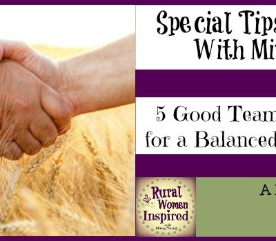5 Good Teamwork Tips for a Balanced Rural Life