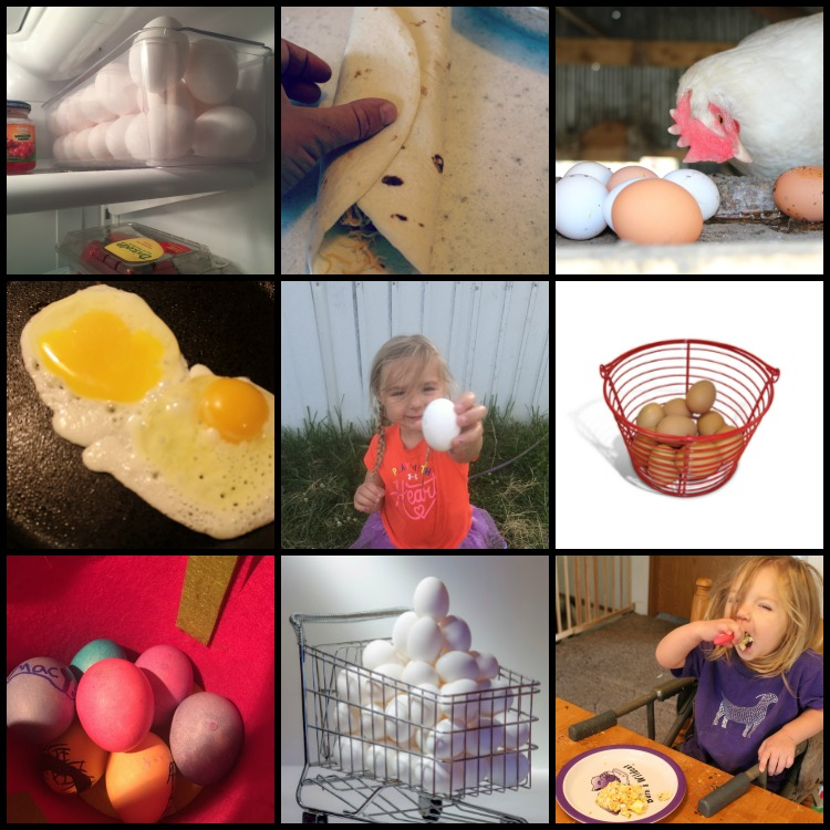 Ways to use up extra eggs