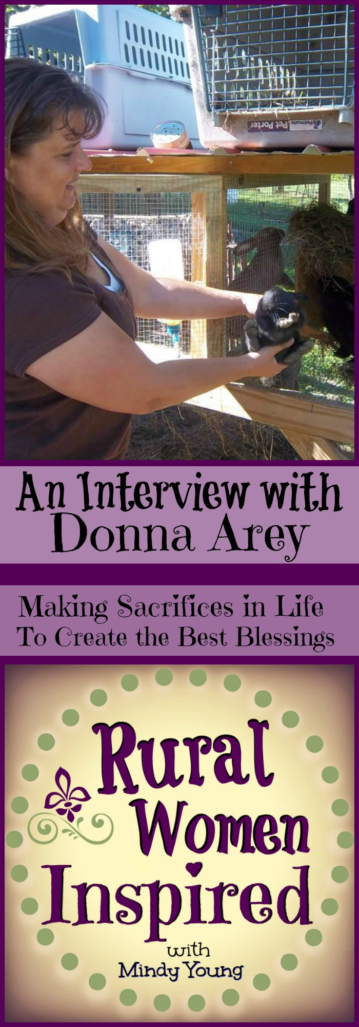 Do you find yourself in the midst of making sacrifices in life to get what you want? Listen to Donna's Story and be inspired to take that next step | Rural Women Inspired | Episode 17