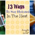 13 Simple Ways to Stay Hydrated This Summer