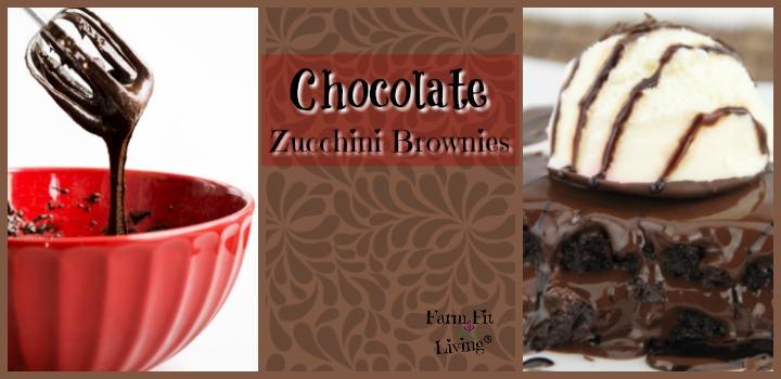 chocolate zucchini brownies recipe