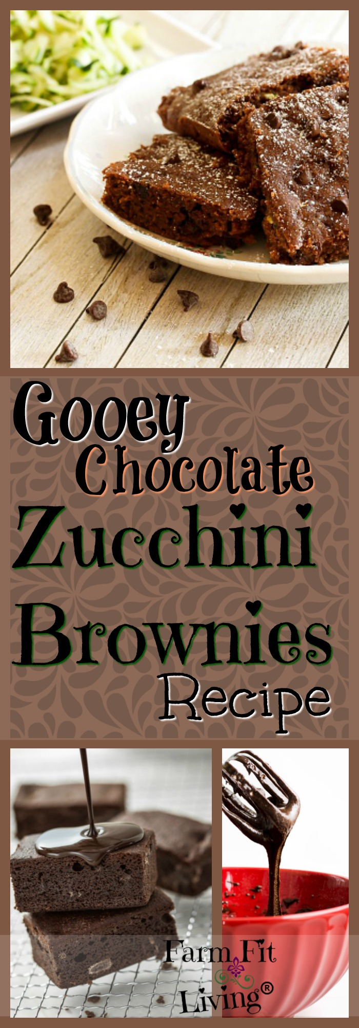 Looking for a chocolate zucchini brownies recipe to use up excess zucchini and cure your brownie cravings? This is the best recipe I've found. Enjoy!