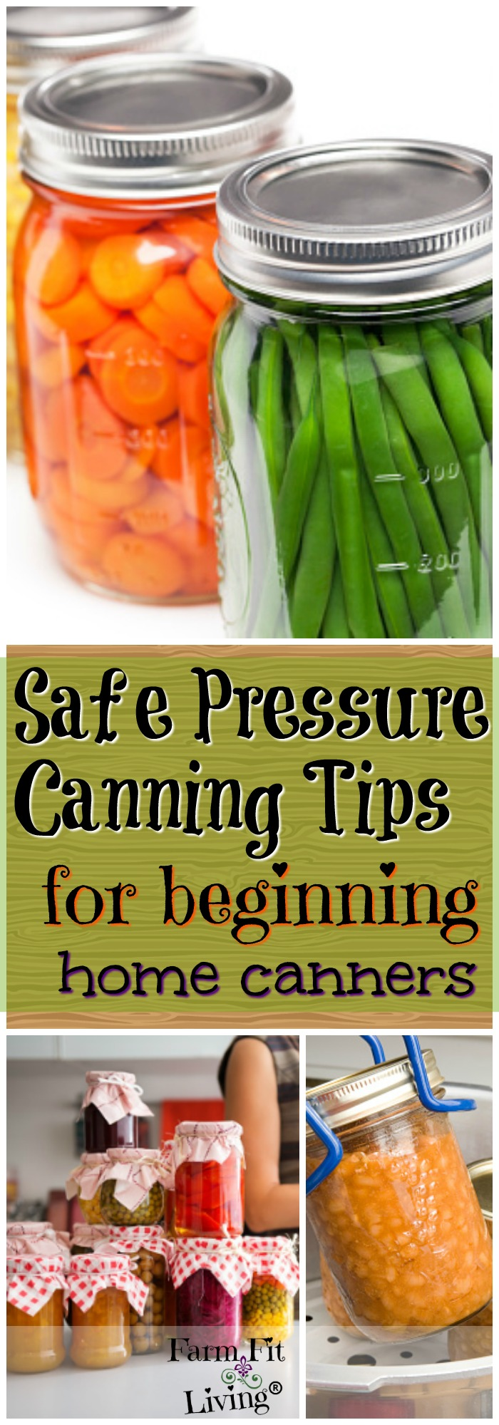 Are you looking for a good list of safe pressure canning tips? These tips are proven ways you'll have a safe canning experience.