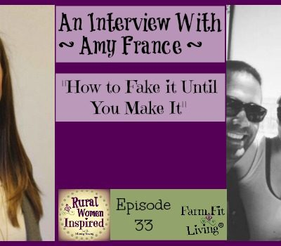 How to Fake It Until You Make It with Amy France