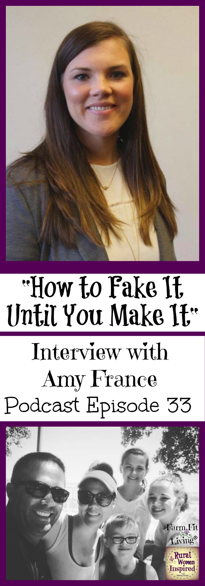 Have you ever heard the phrase: Fake It until You Make It? Amy's story is a great example of how she's learned her way to the top of her industry.