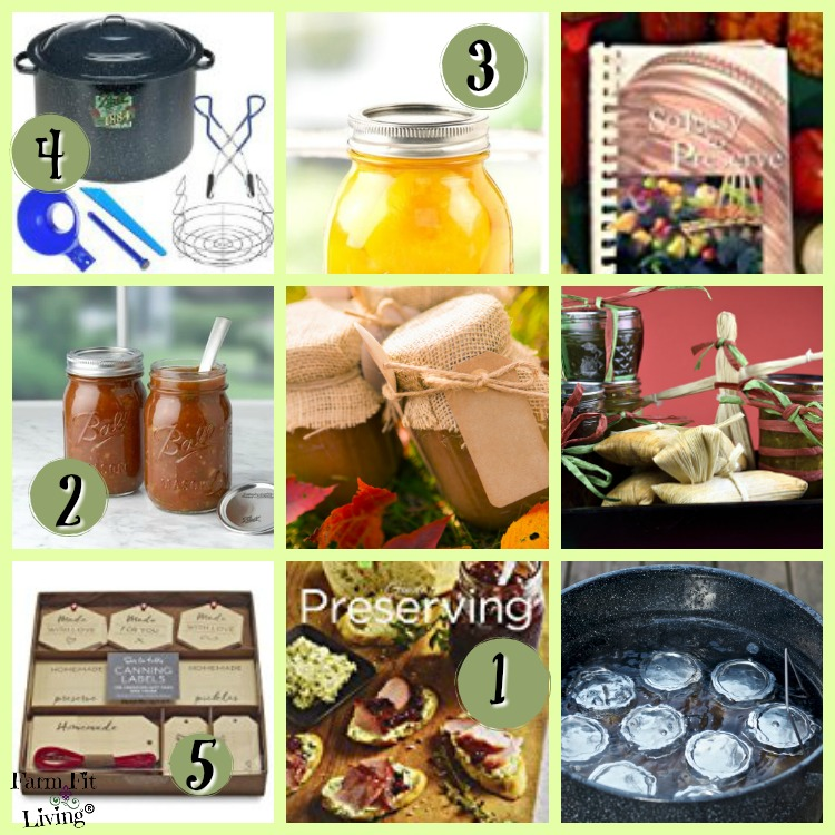 Gift Ideas for Home Canners