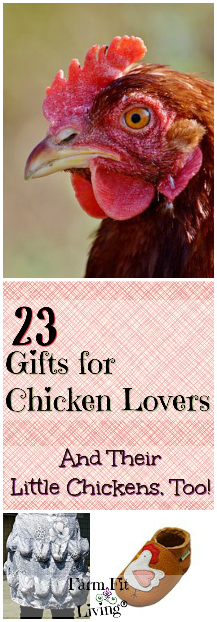 Are you looking for the perfect gifts for chicken lovers in your life? Here's a gift guide for chicken lovers designed to make you say,