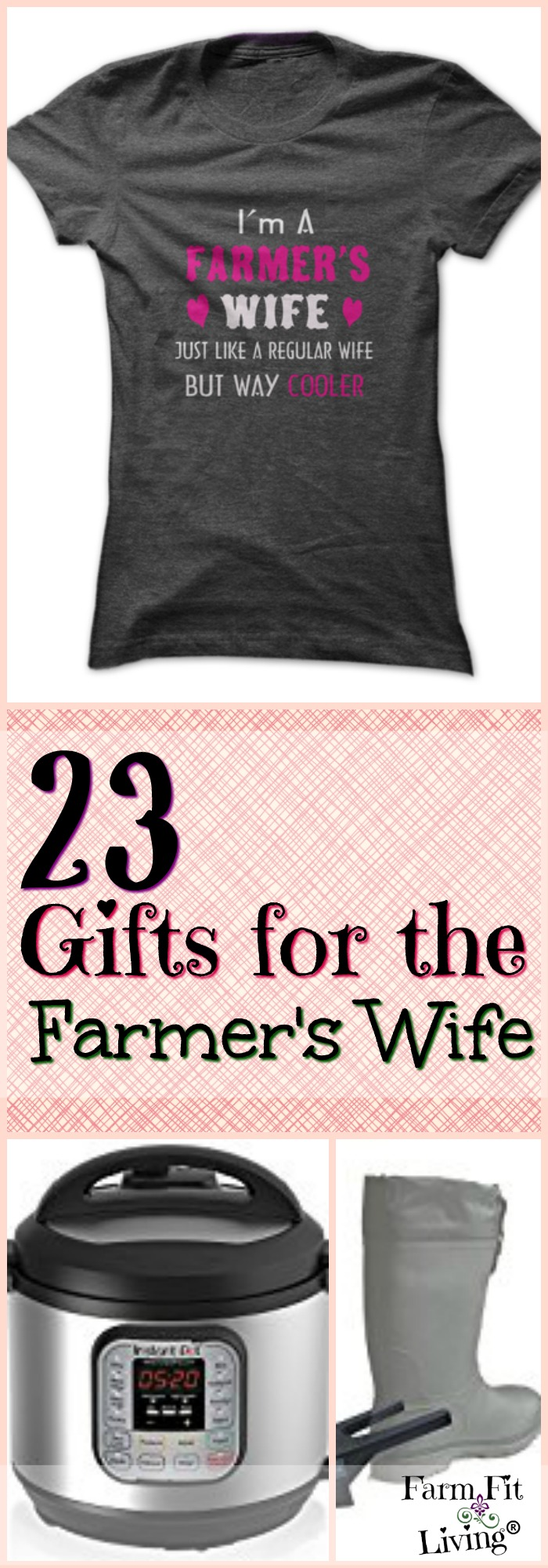 Do you need gift ideas for the farmer's wife that are sure to wow her? Here are 23 ideas that will save her time, money and help her find purpose.