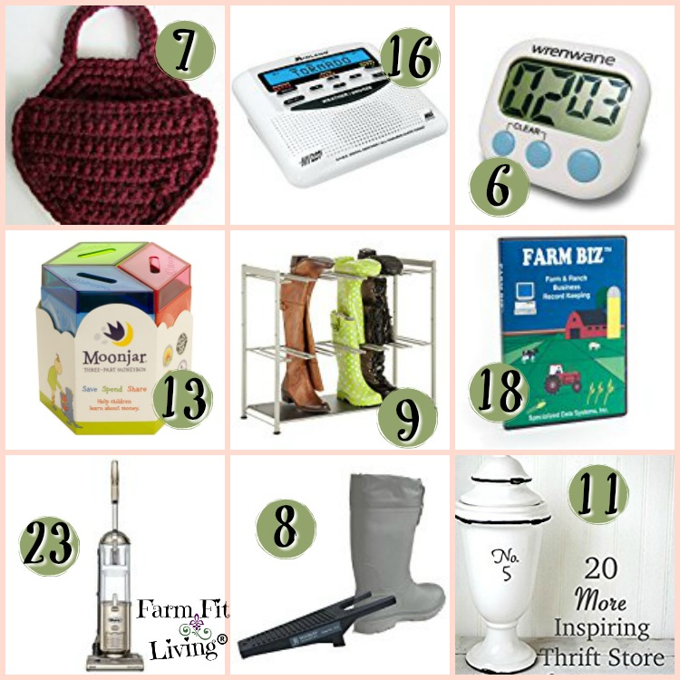 Gift Ideas for the Farmers Wife