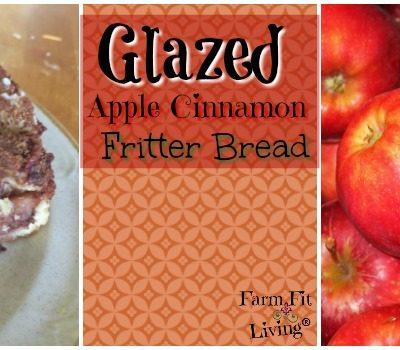 Glazed Apple Cinnamon Bread