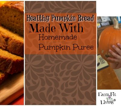Healthy Pumpkin Bread Recipe with Homemade Pumpkin Puree
