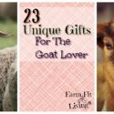 23 Unique Gifts for Goat Lovers