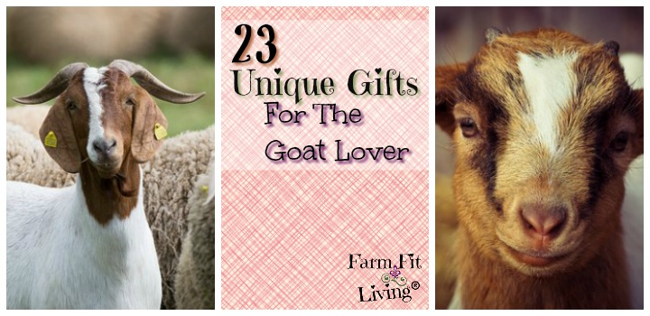 unique gifts for goat lovers