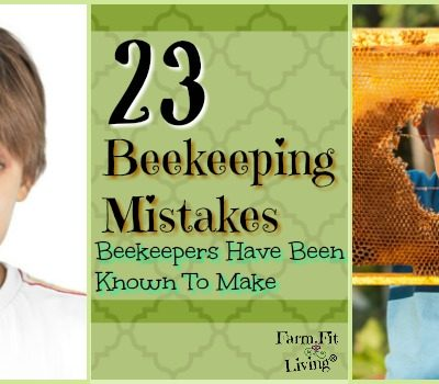 23 Beekeeping Mistakes Beekeepers Have been Known to Make