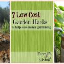 7 Low Cost Garden Hacks to Help Save Money Gardening