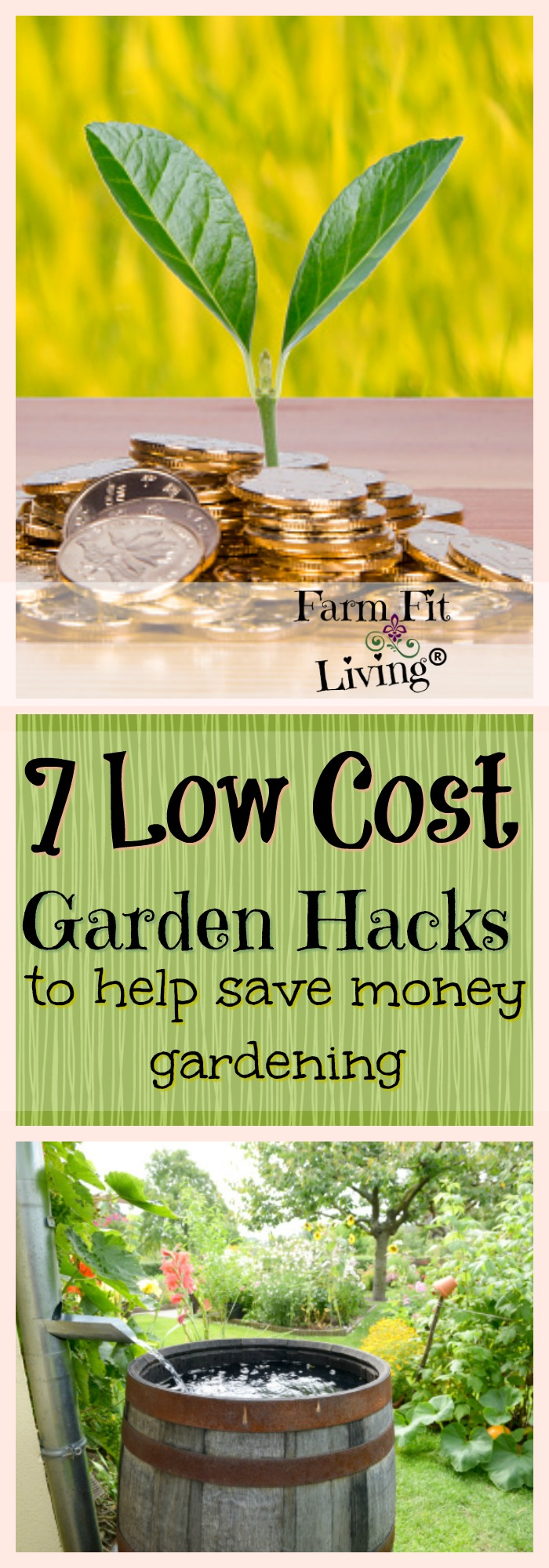 Are you curious about low cost garden hacks that can help you save money on your garden venture? Here are 7 hacks to low cost gardening. #gardenhacks #lowcostgardening #cheapgardening