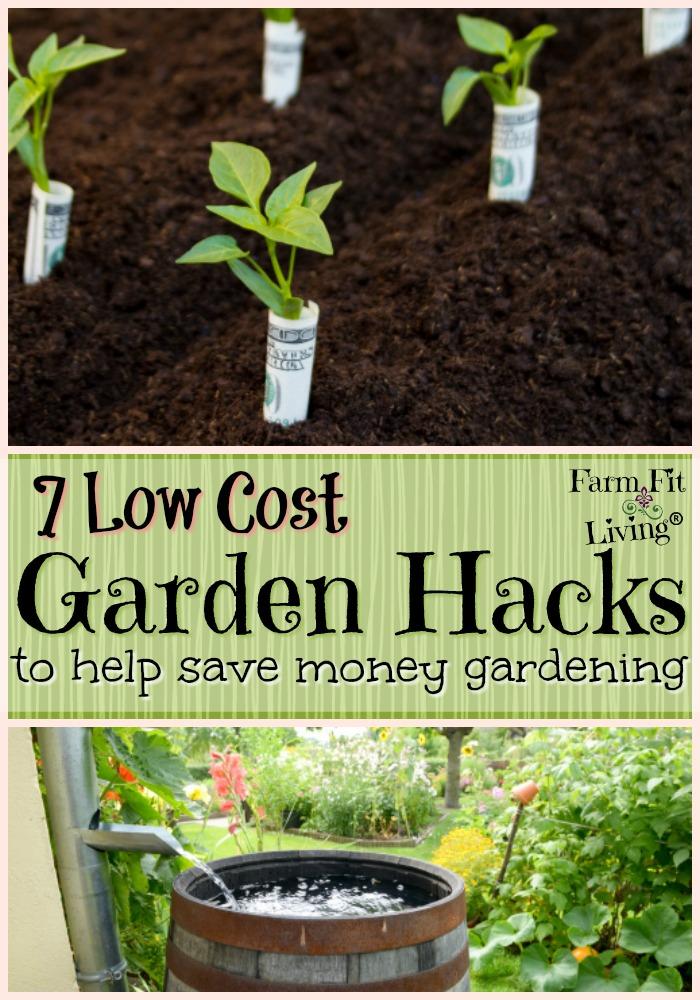 Low Cost Garden Hacks
