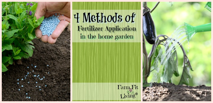 Methods of Fertilizer Application in the Home Garden