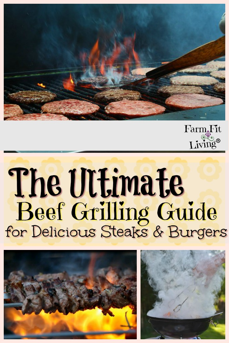 If you're looking for a beef grilling guide that can help you serve up some better beef, this is the post for you. It covers temperature, timing, the right cuts and more. #beef #grillingtips