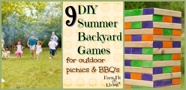 DIY Summer Backyard Games for Outdoor Picnics