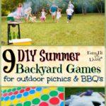 DIY Summer Backyard Games