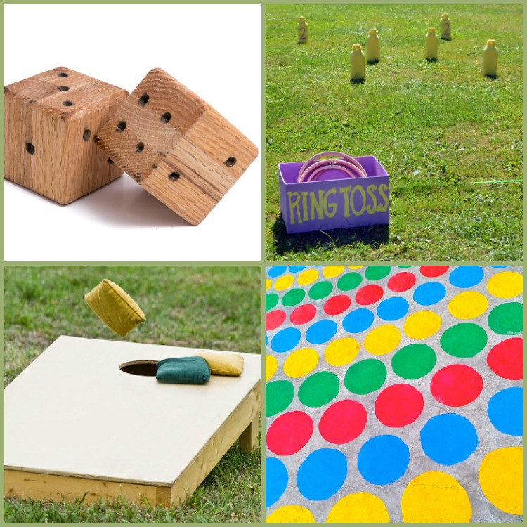 DIY Summer Backyard Games