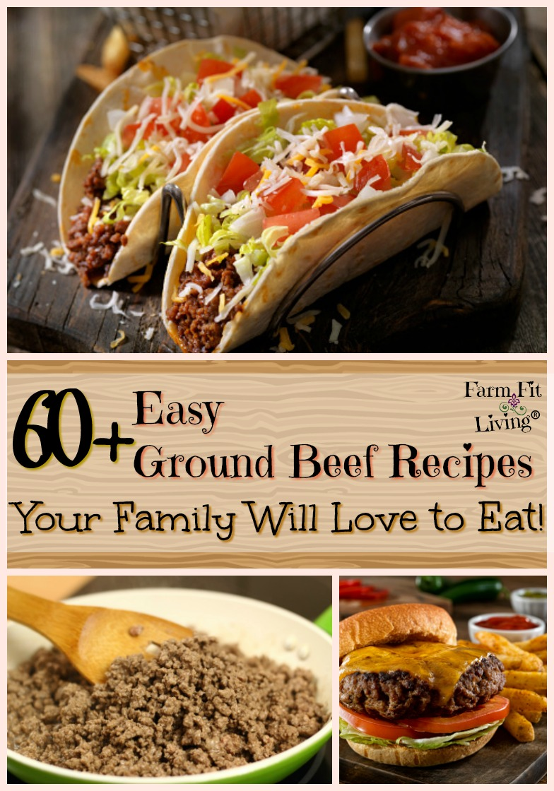 Got ground beef? Very little time? Check out these easy ground beef recipes that are classic and delicious. #easygroundbeefrecipes #nationalbeefmonth
