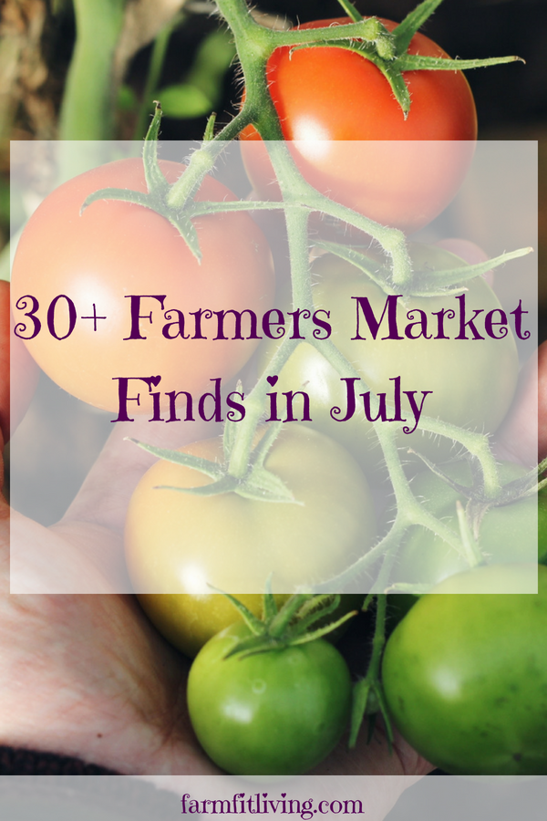 what to find at your farmers market