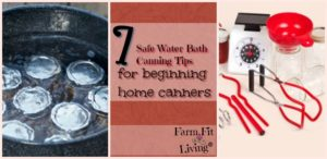 canning tips