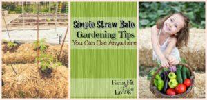 Simple Straw Bale Gardening Tips