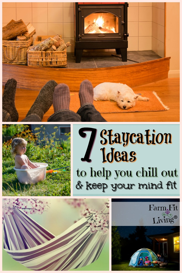 Can't go on a vacation? Well, here's some staycation ideas that can help you unwind and relax.  #staycation