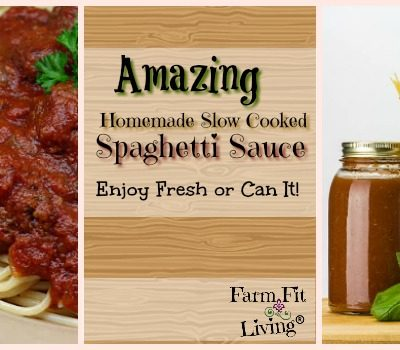 Amazing Homemade Slow Cook Spaghetti Sauce for Canning