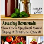 Homemade Slow Cook Spaghetti Sauce