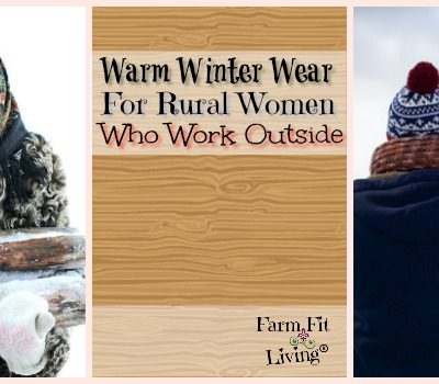 Warm Winter Wear for Rural Women Who Work Outdoors