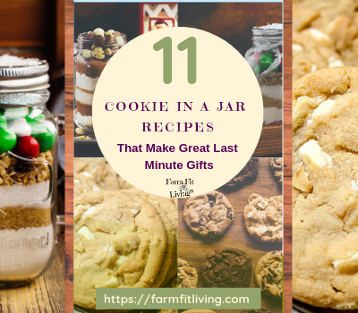 11 Cookie in a Jar Recipes that Make Great Last Minute Gifts