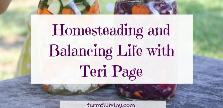 homesteading and balancing life