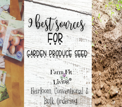 9 Best Sources for Garden Produce Seed