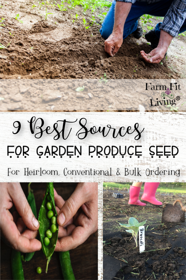best sources for garden produce seed