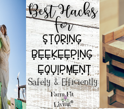 Hacks for Storing Beekeeping Equipment Safely & Efficiently
