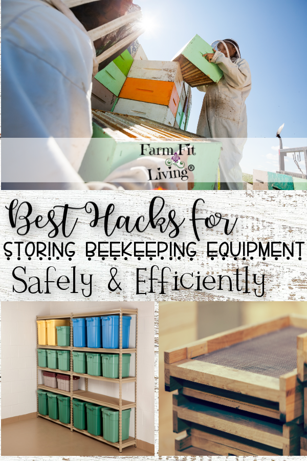 Best Hacks for Storing Beekeeping Equipment Safely and Efficiently