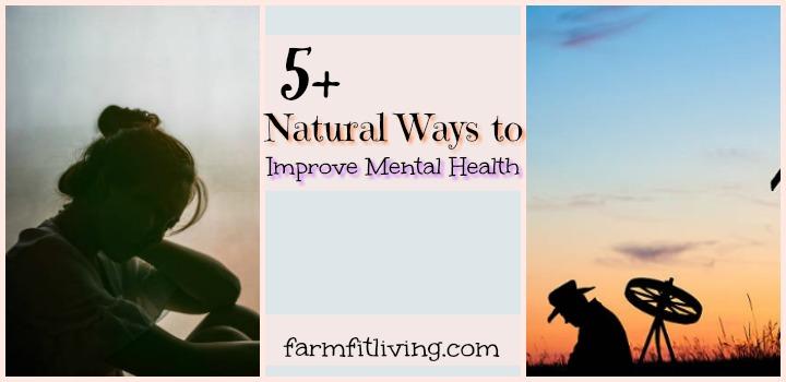 natural ways to improve mental health