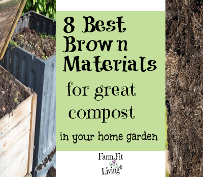 8 Best Brown Material for Great Compost for Your Home Garden