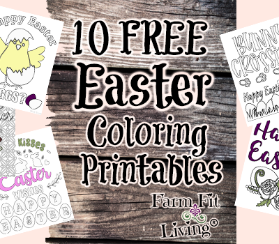 10 Free Easter Coloring Printables Just For You