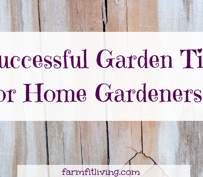 7 Successful Garden Tips for Home Gardeners