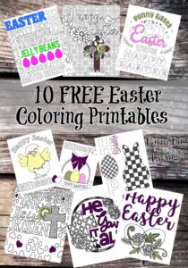 Free Easter Coloring Printables