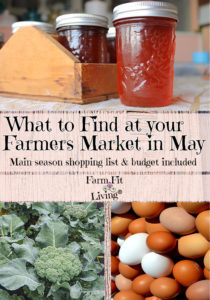 What to Find at Your Farmers Market in May